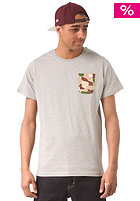 NEW ERA Camo Pocket S/S T-Shirt grey
