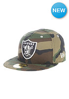 NEW ERA Camo Pop Redux Oakland Raiders Fitted Cap multicolors
