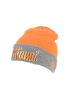 NEW ERA Candy Knit Miamar Beanie tenn orange/graphite