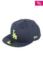 NEW ERA Canvapop LA Dodgers Cap navy/cybergreen