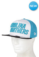NEW ERA Carolina Panthers Fresh Script Snapback Cap team