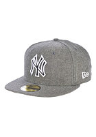NEW ERA Chamsuede New York Yankees Fitted Cap black