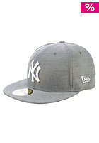 Charmfifty New York Yankees Fitted Cap black/white