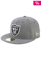 NEW ERA Charmfifty Oakland Raiders Fitted Cap black/white