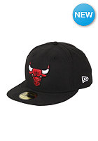 NEW ERA Chicago Bulls NBA Seasonal Basic Fitted Cap black/team