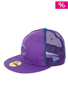 NEW ERA Chicago Cubs Mesh Fade Cap purple/blue jewel