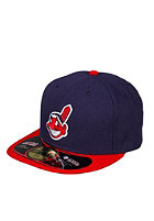 NEW ERA Cleveland Indians Ac Perf Cap dark blue/red