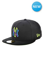 NEW ERA Colour Junction 3 New York Yankees Cap black / lime