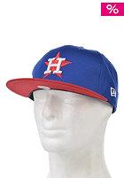 NEW ERA Cotton Block 5 Houston Astros blue royal/scarlet