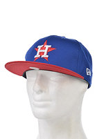NEW ERA Cotton Block 5 Houston Astros Snapback Cap blue royal/scarlet