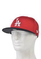 NEW ERA Cotton Block 5 Los Angeles Dodgers Snapback Cap scarlet/black