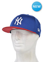 NEW ERA Cotton Block 5 New York Yankees Snapback Cap blue royal/scarlet