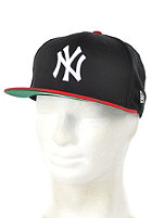 NEW ERA Cotton Block NY Yankees Cap black/scarlet