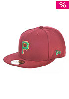 Country Colour 2 Pittsburgh Pirates Fitted Cap maroon/kelly