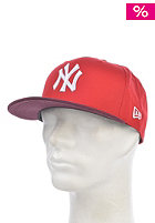 NEW ERA CR Mono Block Snapback Cap scarlet