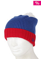 NEW ERA Cuff Chunk Cap bright royal/scarlet/white