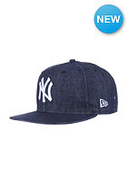 NEW ERA Denim Basic 9Fifty New York Yankees navy / white