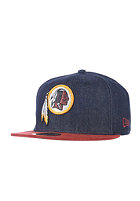 NEW ERA Densuede Washington Redskins Cap navy