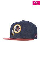 NEW ERA Densuede Washington Redskins Cap navy