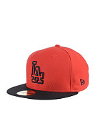 NEW ERA Diamond Basic Los Angeles Dodgers hot red/black