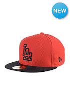 NEW ERA Diamond Basic Los Angeles Dodgers hot red/black