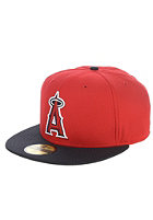 NEW ERA Diamond Era Anaheim Angels Fitted Cap scarlet