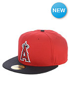 Diamond Era Anaheim Angels Fitted Cap scarlet