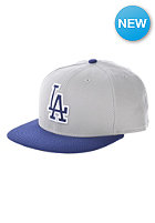 NEW ERA Diamond Era Los Angeles Dodgers Road Fitted Cap Grey