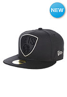 NEW ERA Diamond Prene Brooklyn Nets OTC Fitted Cap black