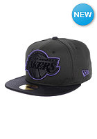 NEW ERA Diamond Prene LA Lakers OTC Fitted Cap black