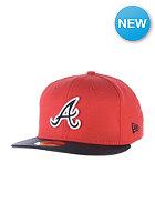 NEW ERA Diamond Reverse Atlanta Braves Fitted Cap team color