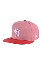 NEW ERA Emea Fresh New York Yankees heather light red/scarlet