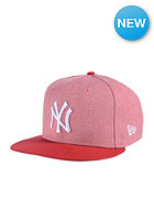 NEW ERA Emea Fresh New York Yankees heather light red/scarlet