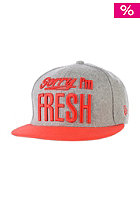 NEW ERA Fresh 9Fifty grey/hot red