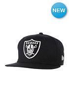 NEW ERA GITD 9Fifty Oakland Raiders Snapback Cap black
