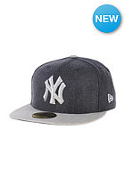 NEW ERA Heather Blende NY Yankees Cap heather navy/heather grey