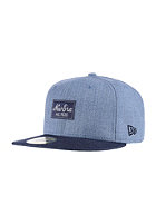 NEW ERA Heather Patche heather light blue/navy
