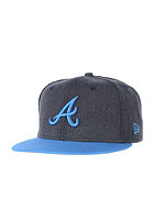 NEW ERA Heather Pop Atlanta Braves Snapback Cap heather navy/snapshot blue