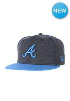 NEW ERA Heather Pop Atlanta Braves Snapback Cap heather navy/snapshot blue