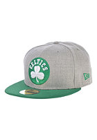 NEW ERA Heather Pop Boston Celtics Fitted Cap grey/kelly