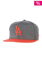 NEW ERA Heather Pop LA Dodgers heather graphite/hot red