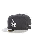NEW ERA Heathera LA Dodgers Fitted Cap black heather/grey