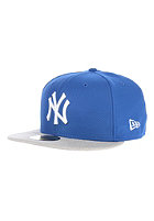 NEW ERA Heathera New York Yankees Fitted Cap grey/blue