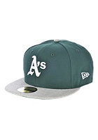 NEW ERA Heathered Out Oakland Athletics Team Fitted Cap grey