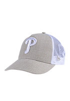 NEW ERA Heathtruck Philadelphia Phillies heather oatmeal/white