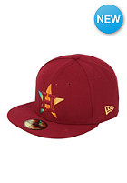 NEW ERA Houston Astors Fade A Grade Fitted Cap cardinal