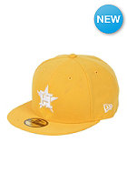 NEW ERA Houston Astros League Basic MLB Fitted Cap a gold