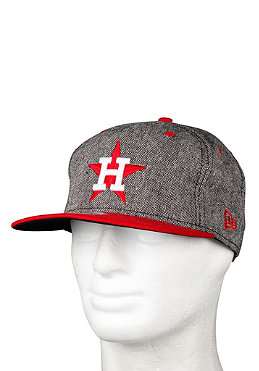 NEW ERA Houston Astros Tweed Snap Cap scarlet/white