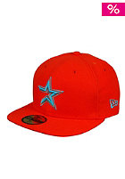 NEW ERA Houston Rockets Seas Cont MLB Cap orange/vice blue