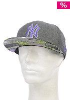 NEW ERA Island Visor New York Yankees graphite / purple